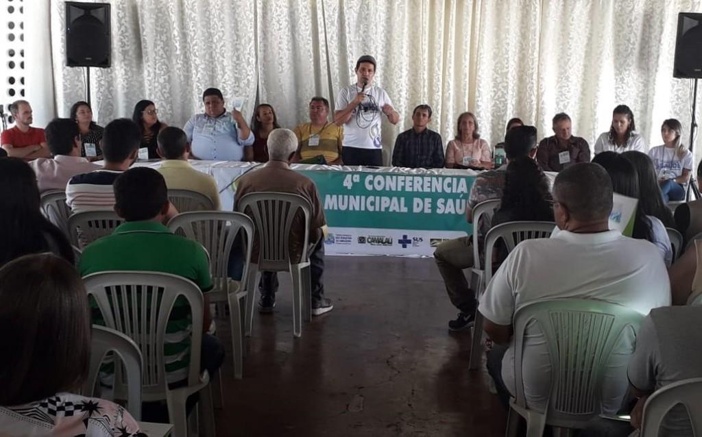 No Congo, quatro municípios realizam Conferência Municipal de Saúde em conjunto