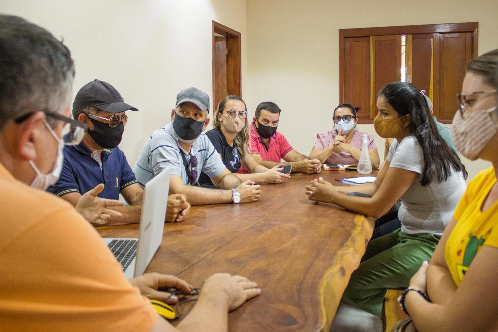 Segurança Pública é tema de reunião entre prefeito e secretariado