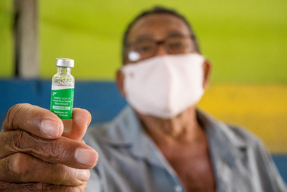 Prefeitura do Congo realiza vacinação em idosos