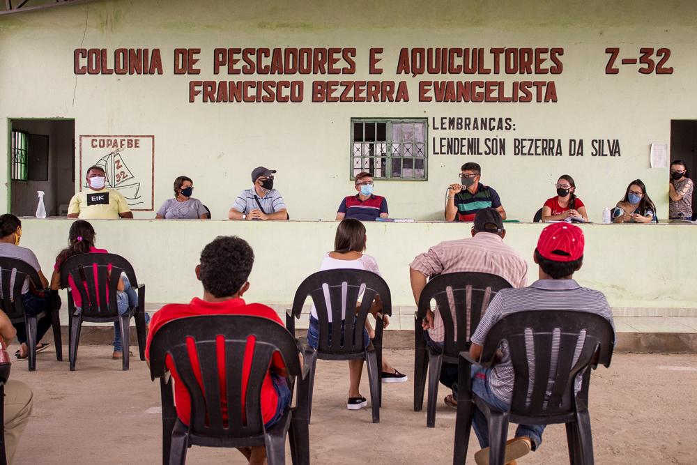 Reunião com pescadores da Colônia Z-32