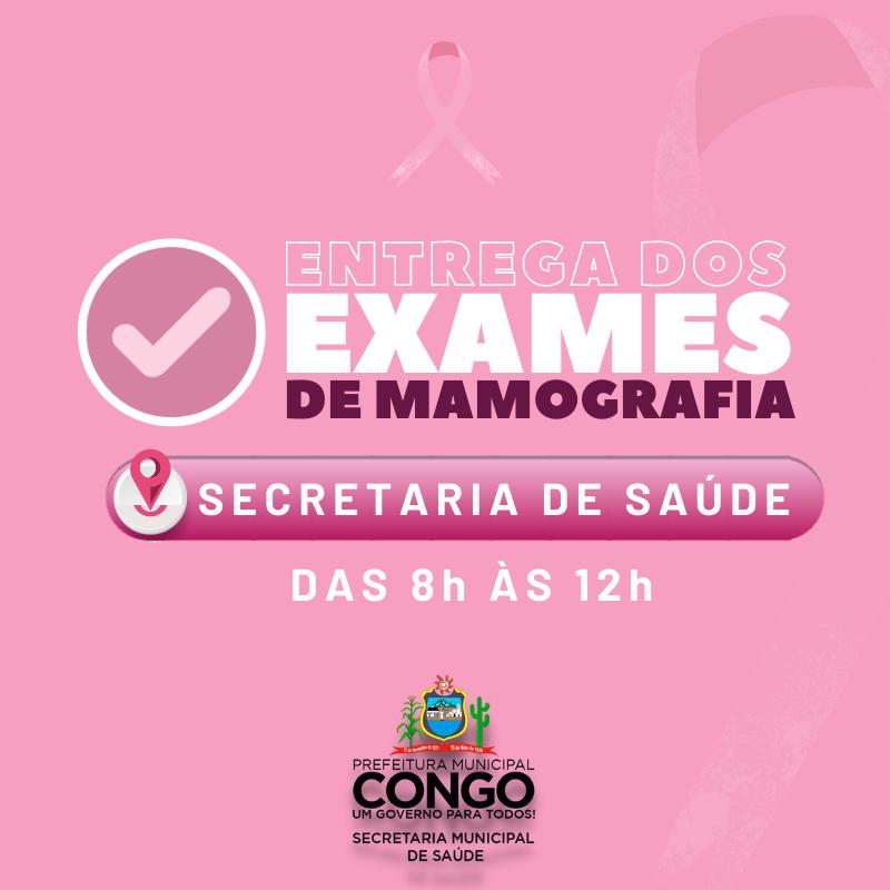 Prefeitura realiza a entrega dos exames de mamografia