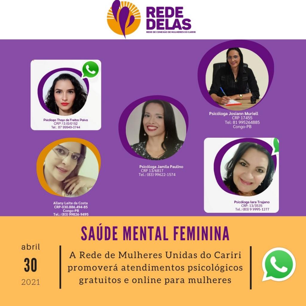 Escuta Psicológica Gratuita e Online para Mulheres