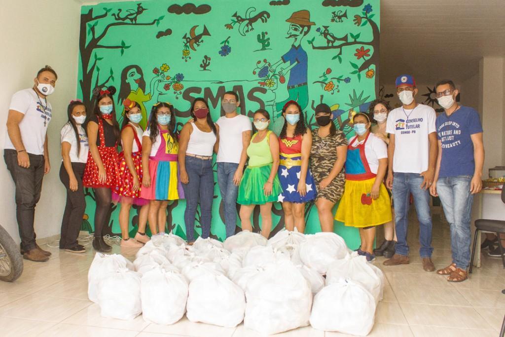 Secretaria Municipal de Assistência Social realiza atividade especial em comemoração ao dia das crianças