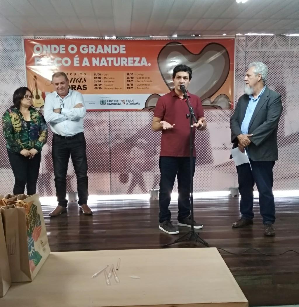 Prefeito Júnior Quirino participa do lançamento do Circuito Som nas Pedras em João Pessoa