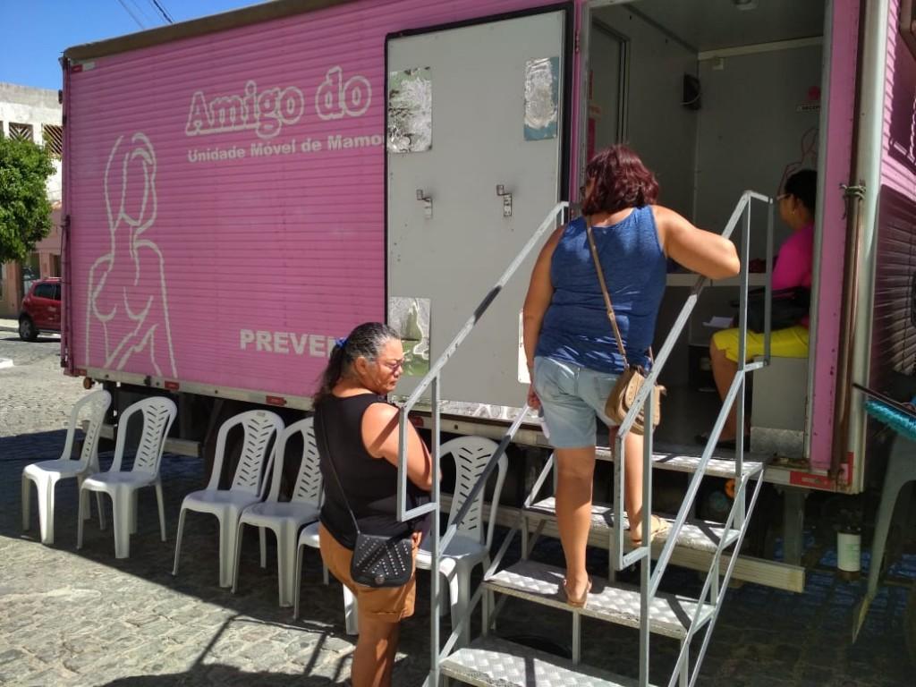 Secretaria Municipal de Saúde realiza 70 mamografias neste sábado na cidade do Congo