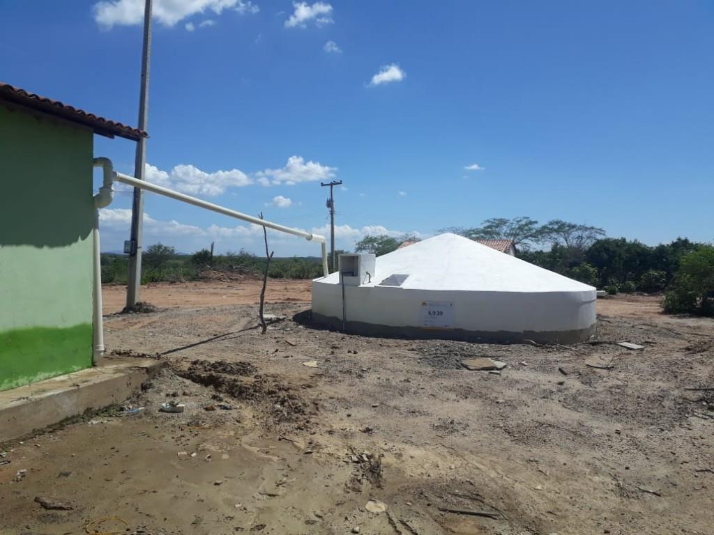 Escolas rurais de Congo ganham cisternas com capacidade para armazenar 52m³ de água
