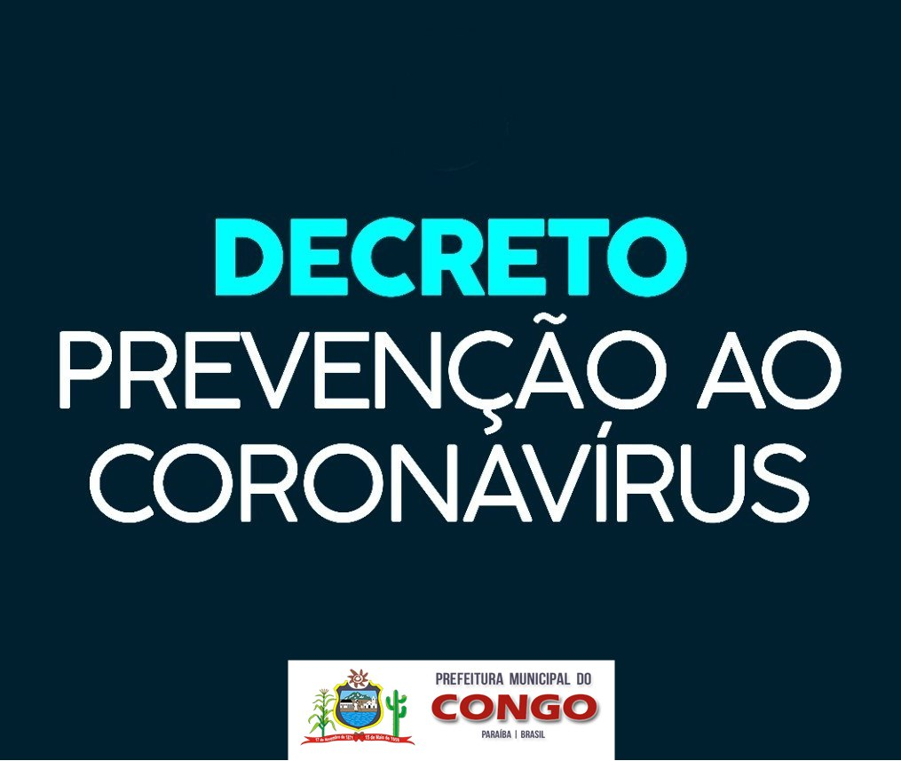 Prefeito Júnior Quirino edita decreto de emergência para prevenção ao coronavírus