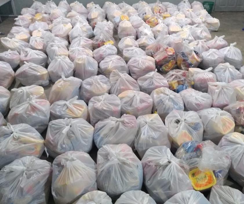 Prefeitura do Congo distribui cestas básicas para famílias em situação de vulnerabilidade social