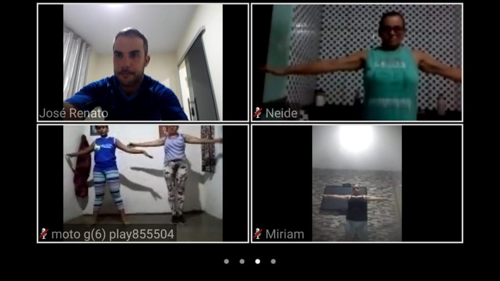 INOVAÇÃO: Na pandemia, Academia da Saúde do Congo oferta atividades físicas dirigidas por videoconferência